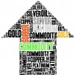 Commodity stock market or trading concept. — Stock Photo #56468537