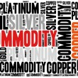 Commodity stock market or trading concept. — Stock Photo #56468549