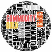 Commodity stock market or trading concept. — Stock Photo