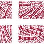 National flag of Denmark — Stock Photo #57718553