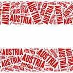 National flag of Austria — Stock Photo #57718613