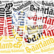 Flag of german state. Word cloud illustration. — Stock Photo #60193309
