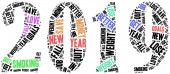 Goals or resolutions for new year. — Stock Photo