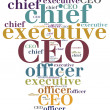 CEO. Chief executive officer. — Stock Photo #70735507