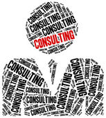Consulting - business service. — Stock Photo