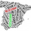 Expansion and recession in Spain. — Stock Photo #72872201