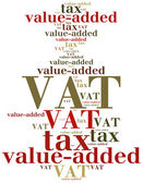 Business abbreviation. Word cloud illustration. — Stock Photo