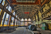 Old destroyed an abandoned factory. — Stock Photo