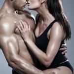 pareja apasionada — Foto de Stock   #58650093