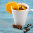 Aromatic tea with cloves — Stock Photo #62898187