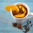 Aromatic tea with cloves — Stock Photo #62898189