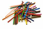 Different colored pencils — Stock Photo