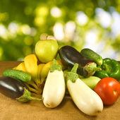 Vários vegetais — Fotografia Stock