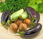Various vegetables closeup — Stock Photo