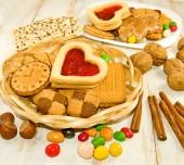 图像的多的小甜饼 — 图库照片