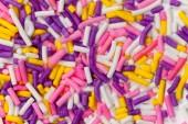 Background Sugar Sprinkle — Stock Photo