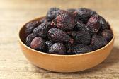 Black Figs (dried) — Stock Photo