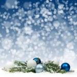 Christmas card. Christmas Decorations. — Stock Photo #55984413