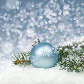 Christmas card. Christmas Decorations. — Stock Photo