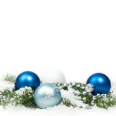 Holiday Decorations. Christmas composition — Stock Photo