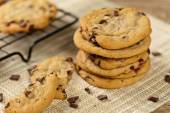Chocolade chip cookies — Stockfoto
