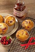 Cranberry Orange Muffins — Stock Photo