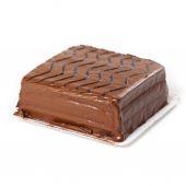 Chocolate Sheet Cake — Stock Photo