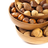 Variety of nuts — Stock Photo