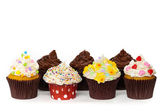 Gourmet Spring Easter Cupcakes — Stock Photo
