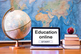 Education online words — Stock Photo