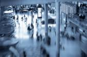 Blurred airport background — Foto Stock