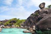 Paradise beach on Similan islands — Stock Photo