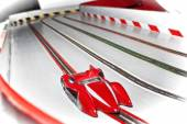 Eletric slot car memories — Stock Photo