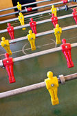 Foosball entertaining — Stock Photo