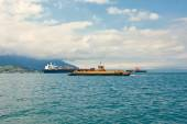 Sea transports — Stockfoto