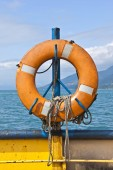 Ferryboat Life buoy  — Stock Photo