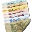 Brazilian bills - back — Stock Photo #55927103