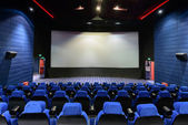 The empty chair in the cinema — Stock Photo
