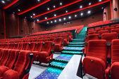 The empty chair in the cinema — Zdjęcie stockowe