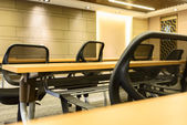 Conference room tables and chairs — Stock fotografie