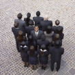 Large group of businesspeople — Stock Photo #52029189