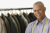 Tailor smiling — Stock Photo