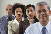 Group portrait of businesspeople — Stock Photo