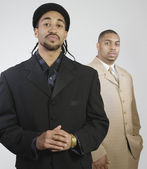 Two African American businessmen — Stock Photo