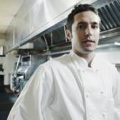 Portrait of male chef — Stock Photo