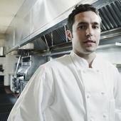 Portret męski szefa kuchni — Zdjęcie stockowe