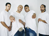 Group of African American men — Stock Photo