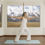 Asian woman practicing yoga — Stock Photo #52070121