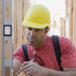 Mixed Race male construction worker — Stock Photo #52073393