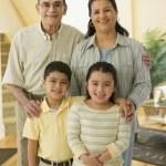 Hispanic grandparents and grandchildren — Stock Photo #52076323